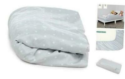 Milliard Toddler Bumper Bed Replacement Fitted Sheet 2 Pack