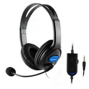 Filaire Stéréo Bass Surround Gaming Headset pour PS4 Nouveau One PC avec micro GL