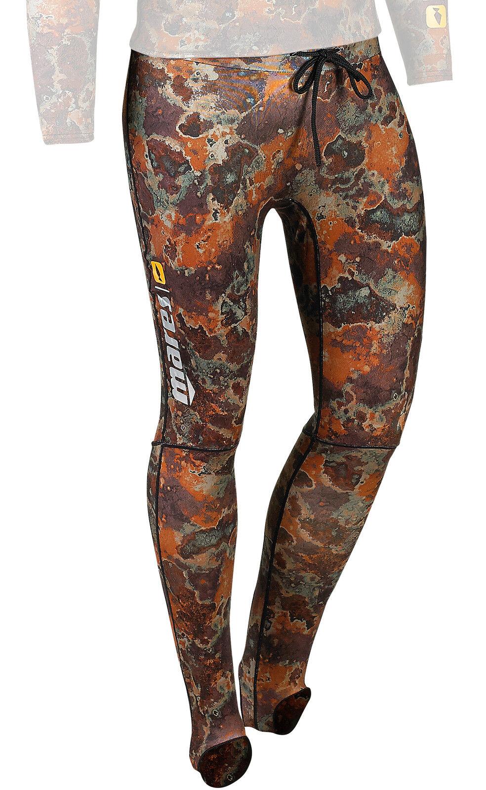 Mares Camouflage Lycra Pants, UV Sun Predection Spearfishing Wetsuit Rashguard
