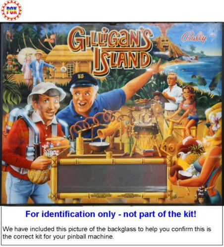 1991 Bally//Midway Gilligan/'s Island Pinball Tune-up Kit
