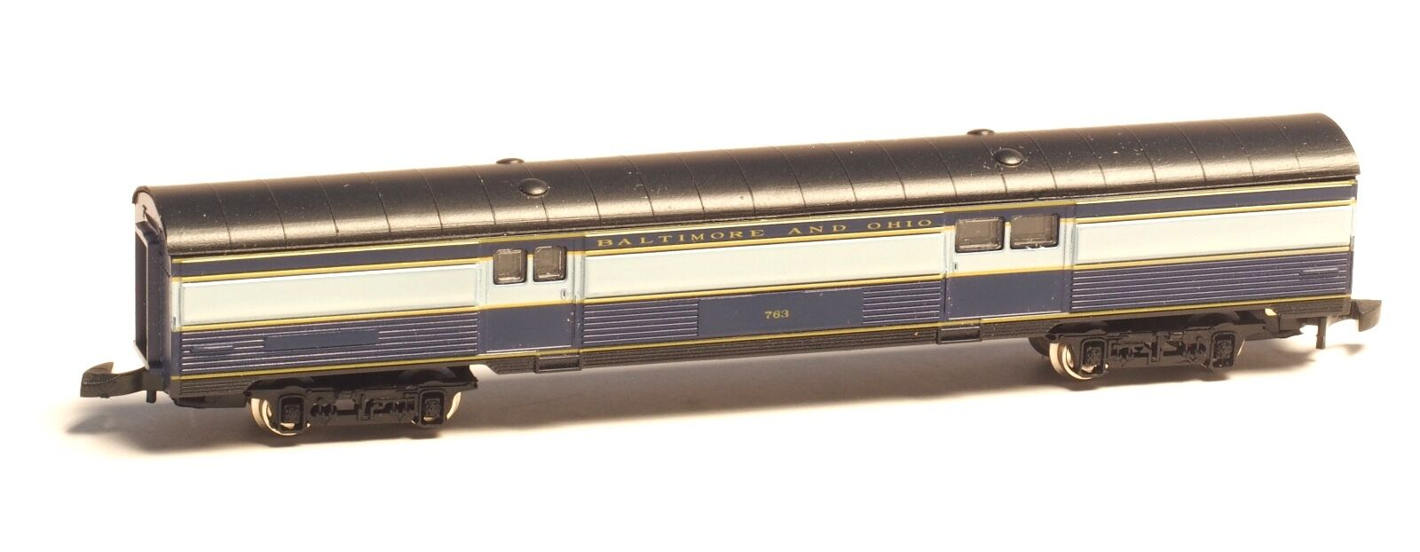 Marklin Z-scale Baltimore & Ohio B&O USA Borsagage Passenger Car with LED LIGHT