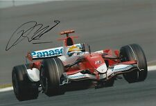 Ralf Schumacher Hand Signed Panasonic Toyota F1 12x8 Photo.