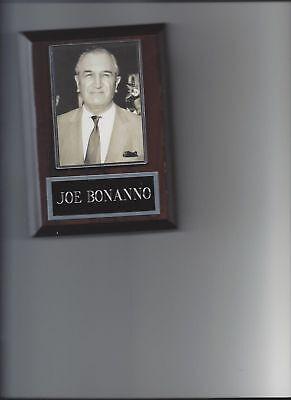 JOE BONANNO 8X10 PHOTO MAFIA ORGANIZED CRIME MOBSTER MOB PICTURE