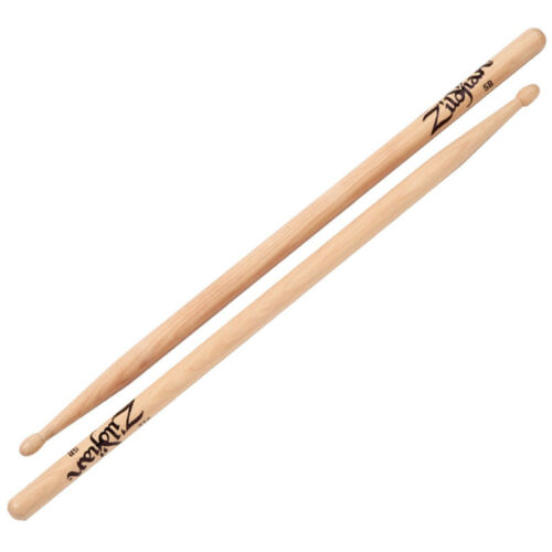 Zildjian 5BWN 5B Wood Natural Drumsticks Drum Sticks One Pair