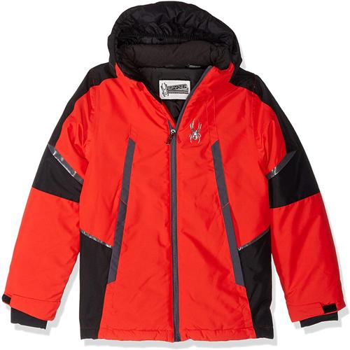 Spyder Boys Big City to Slope Jacket,Ski Snowboard Winter Jacket, Size M(10/12)