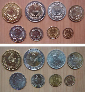 Mexico Coins Set of 8 Pieces UNC