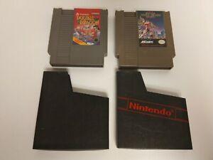 Double-Dragon-NES-Nintendo-Entertainment-System-1988-amp-DOUBLE-DRAGON-II-TESTED