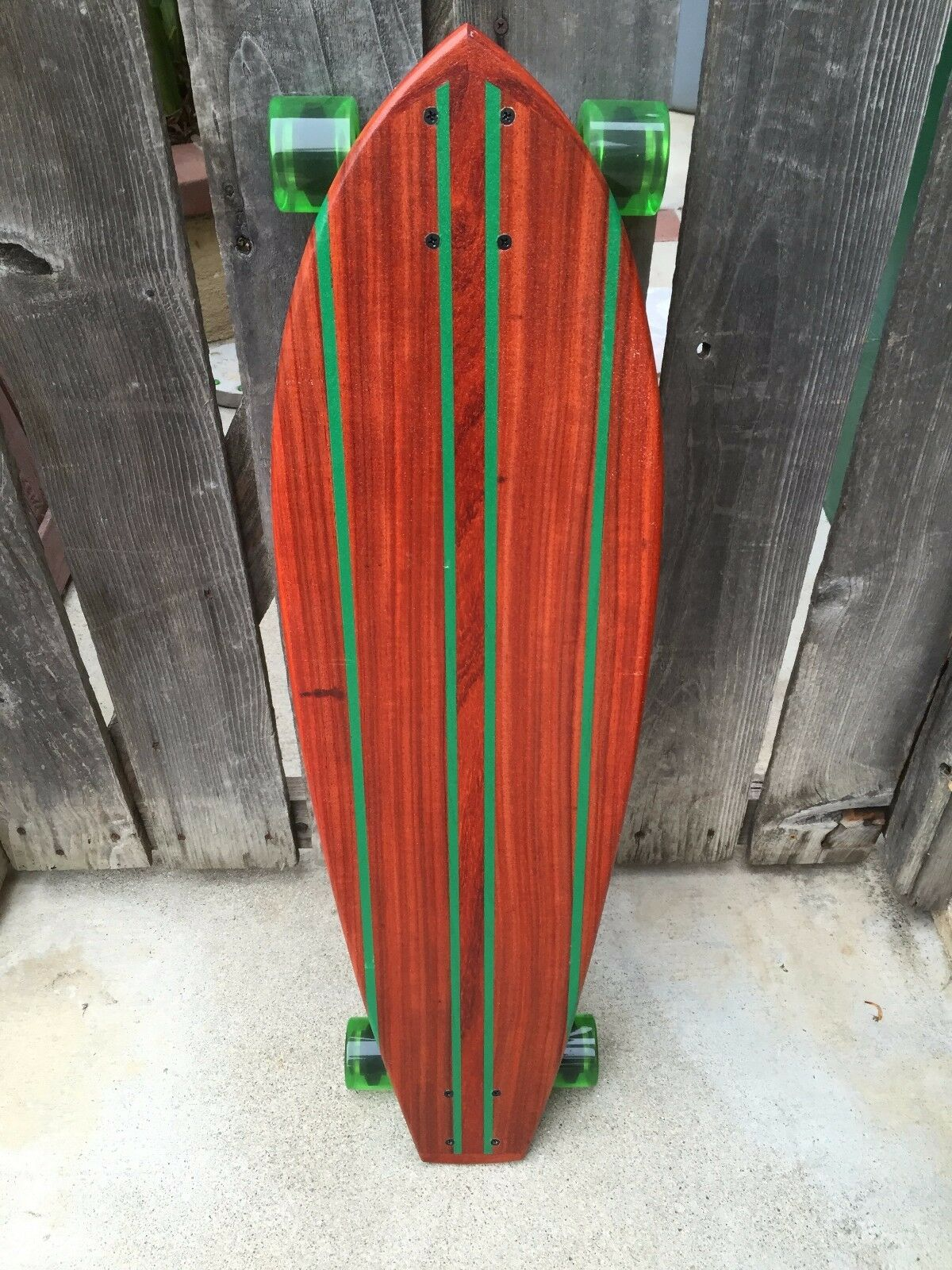 Longboard made of Exotoc Wood -  Varadero  36x10