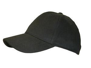 fcac1b84f7105 Small Medium Size Black Flex Fit Fitted Baseball Cap- No Adjusment ...