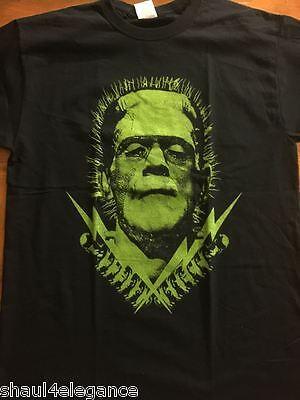 Frankenstein's Monster Lighting Bolts Tesla Coils retro look vintage halloween