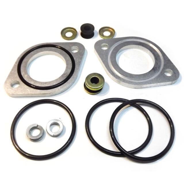 Weber 45 DCOE Dellorto DHLA Solex ADDHE//PHH mounting steel flange manifold