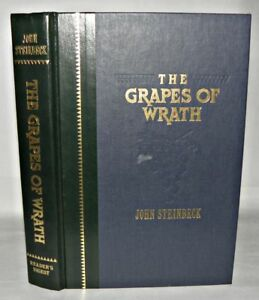 Readers-Digest-The-Grapes-of-Wrath-John-Steinbeck-HB-1994-w-Paper-Insert