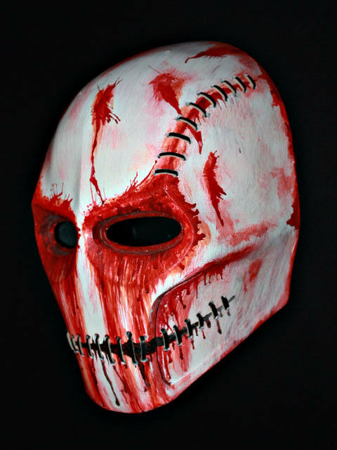Skull PAINTBALL AIRSOFT Masque Halloween Costume Cosplay Diable Evil Casque MA01