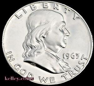 1963-D-50C-Franklin-Silver-Half-Dollar-BU