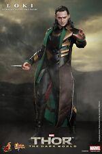 "HOT TOYS Thor The Dark World Loki Tom Hiddleston 12"" Figure IN STOCK"