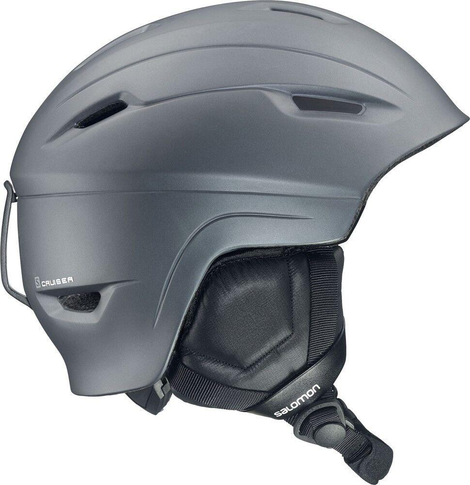 Salomon Cruiser Ski Helmet Snowboard Helmet (Grey Matte) New