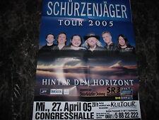 SCHÜRZENJÄGER     PLAKAT  2005     60x84 CM   1015