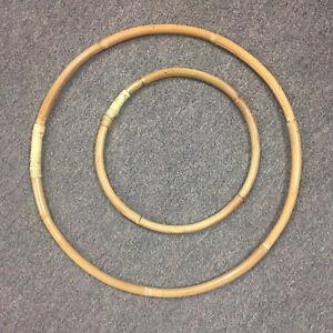 53cm RATTAN RING - Weddings/Florist/Macrame/Hoop/DIY/Bamboo/Cane/Display/Flowers