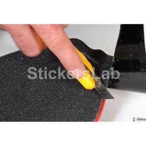 Striscia adesiva antiscivolo nera per rivestimento snow snowboard 23cm x 1 metro