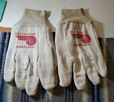 BJ Services oilfield gloves Advertising  D4