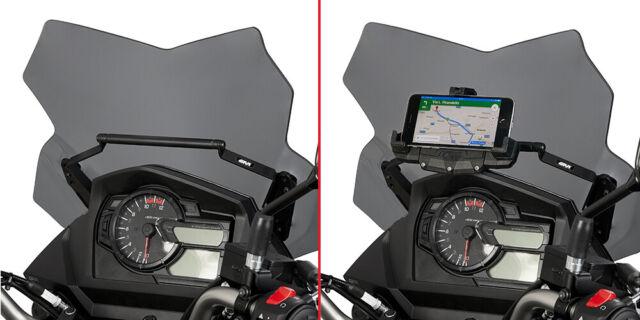 FB3112 GIVI TRAVERSINO per PORTA GPS-SMARTPHONE per SUZUKI DL 650 V-STROM 2019