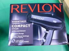Revlon 1875w Compact & Lightweight Hair Dryer Black