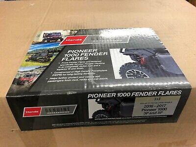 08P70-HL4-F00 New OEM 2016-2019 Honda Pioneer 1000 3P 5P Front Fender Flares