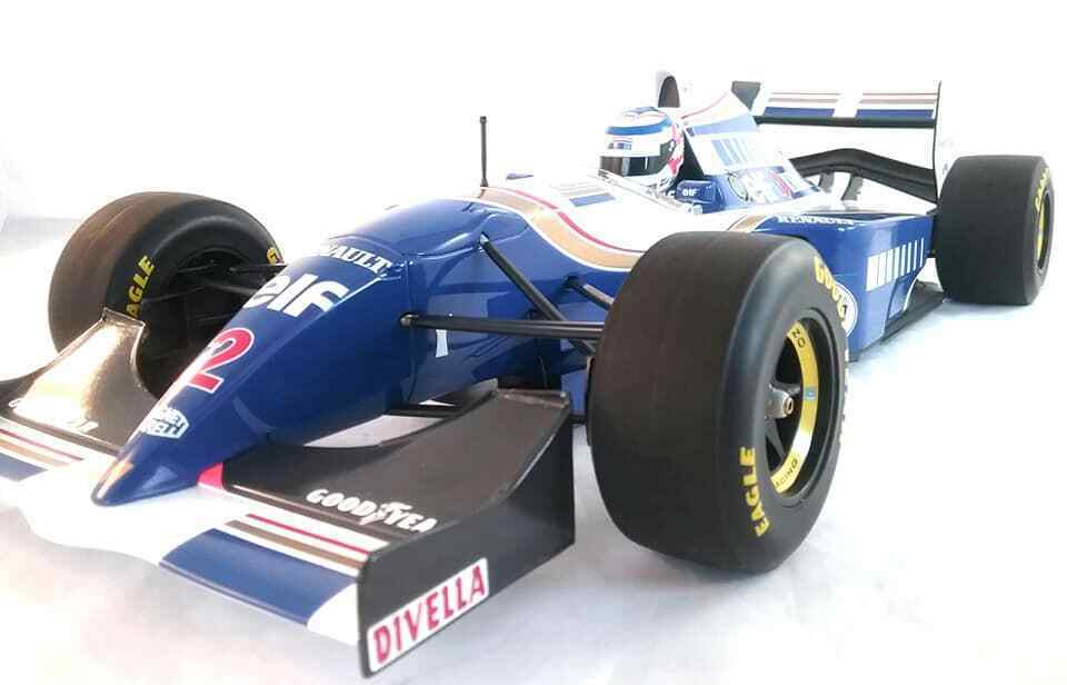 1994 Williams Renault Fw16 F1 Francés Gp Nigel Mansell 1 12 Scale By Minichamps