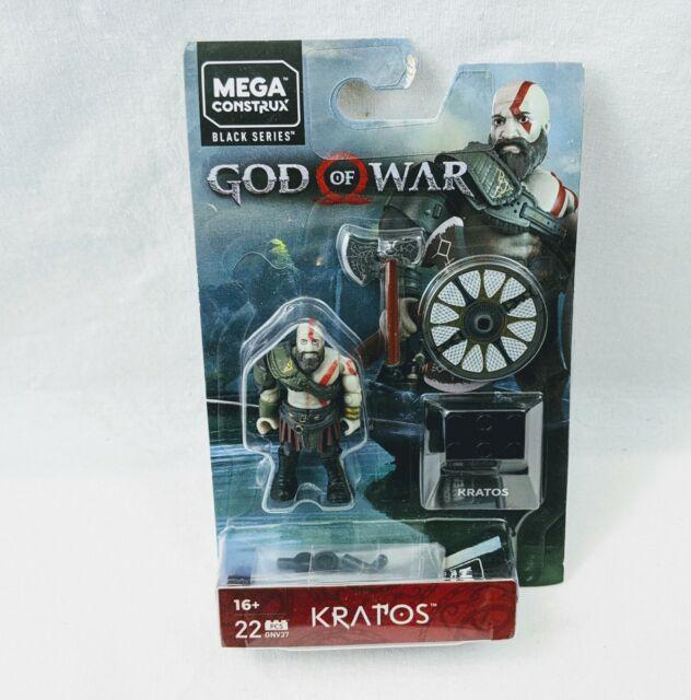 Mega Construx Black Series Wave 2 Kratos New