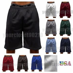 Mens-Dri-Fit-Mesh-Shorts-Fitness-Workout-Gym-Basketball-Jogger-Shorts-Size-S-5X