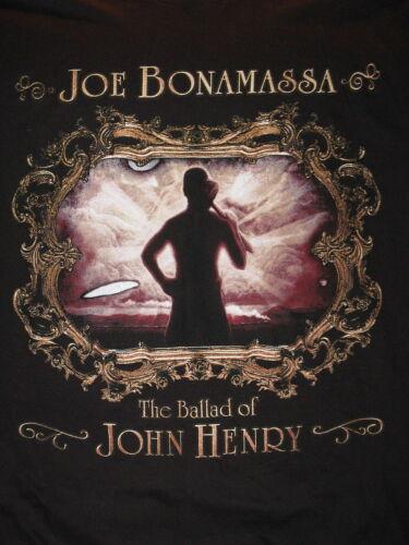 """Joe Bonomassa Ballad of John Henry"" T-Shirt –Great Image(S)"