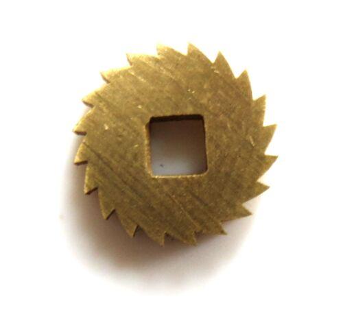 11mm Diameter REPLACEMENT BRASS CLOCK WINDING RATCHET WHEEL SPARES REPAIRS PARTS