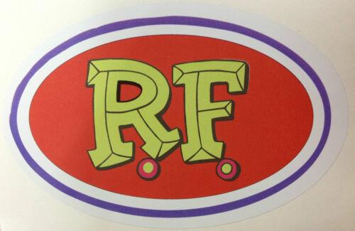 RAT ROD HOT ROD STICKER RAT FINK VINTAGE RACING GAS OIL CHOPPER MOTORCYCLE