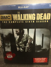 THE WALKING DEAD: SEASON 6 BLU-RAY - THE COMPLETE SIXTH SEASON [5 DISCS] - NEW