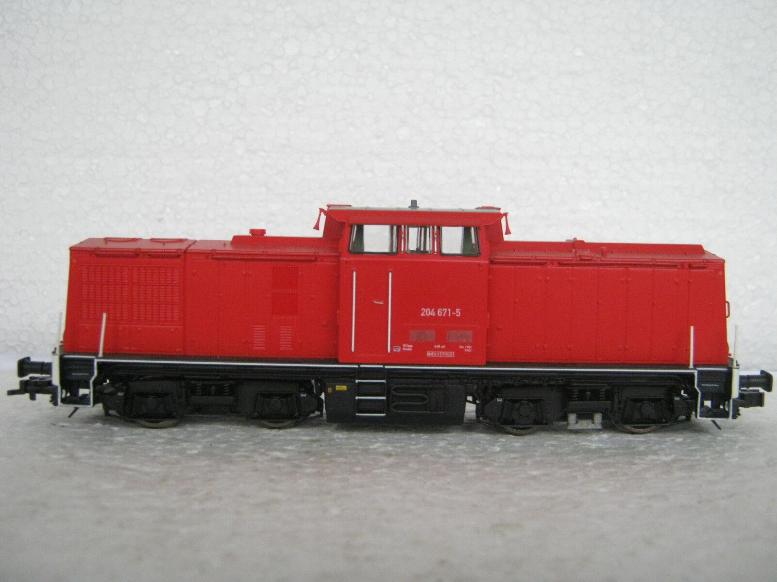 Digital roco ho/DC 62812 DIESEL Lok BR 204 671-5 DB AG  rg/cl/226-85s7/3