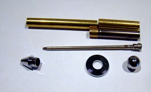 Mini Bullet Chromoptik Kugelschreiber Bausatz T21