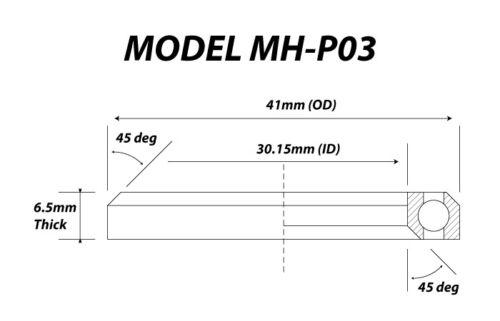 High Quality  Bike Headset Bearings Angular Contact Hope FSA Cane Creek 45 36