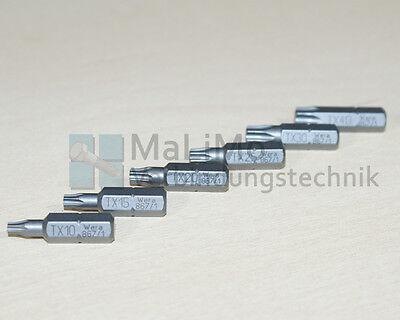 Original WERA Markenqualität Bits Bit Schrauberbit TX PZ PH Kreuzschlitz Torx