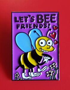 Simpsons-Pin-Ralph-Wiggam-Valentines-Card-Enamel-Retro-Metal-Brooch-Badge-Lapel