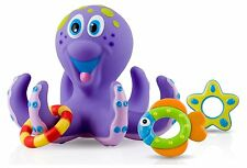 Bath Toys for Toddlers for Boys Girls Kids Baby BPA Free 1 Year Old Octopus Toy