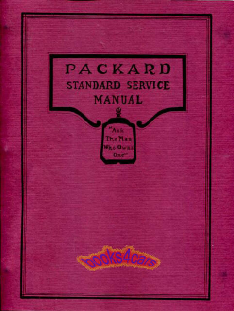 Packard Shop Manual 1929 1930 1931 1932 Repair Service Book ...