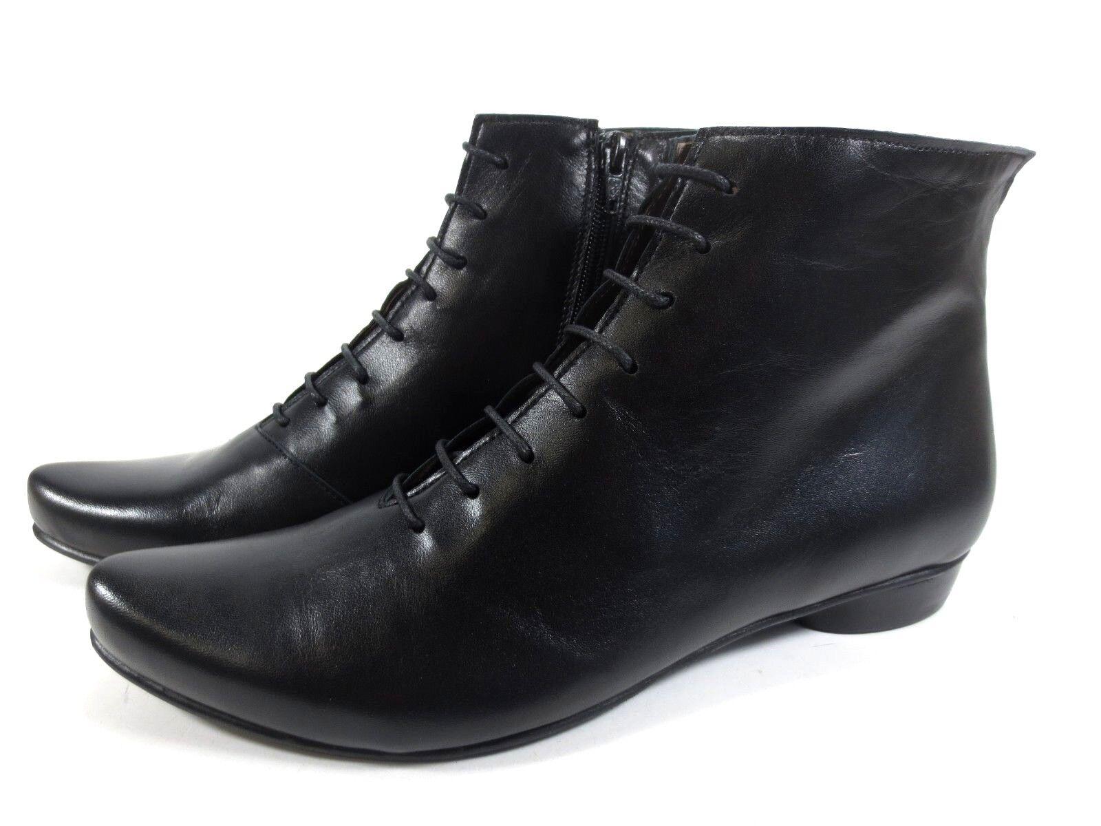 MARIA schuhe feine Nappa Leder Schuhe Stiefeletten Ankle Stiefel Gr. 41 NEU