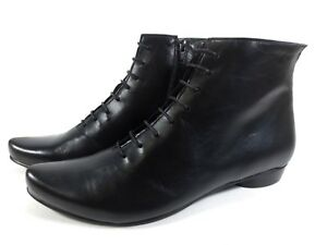 Maria Neu Gr Feine Boots Stiefeletten Schuhe Ankle Leder 41 Nappa Shoes rr8wqvA