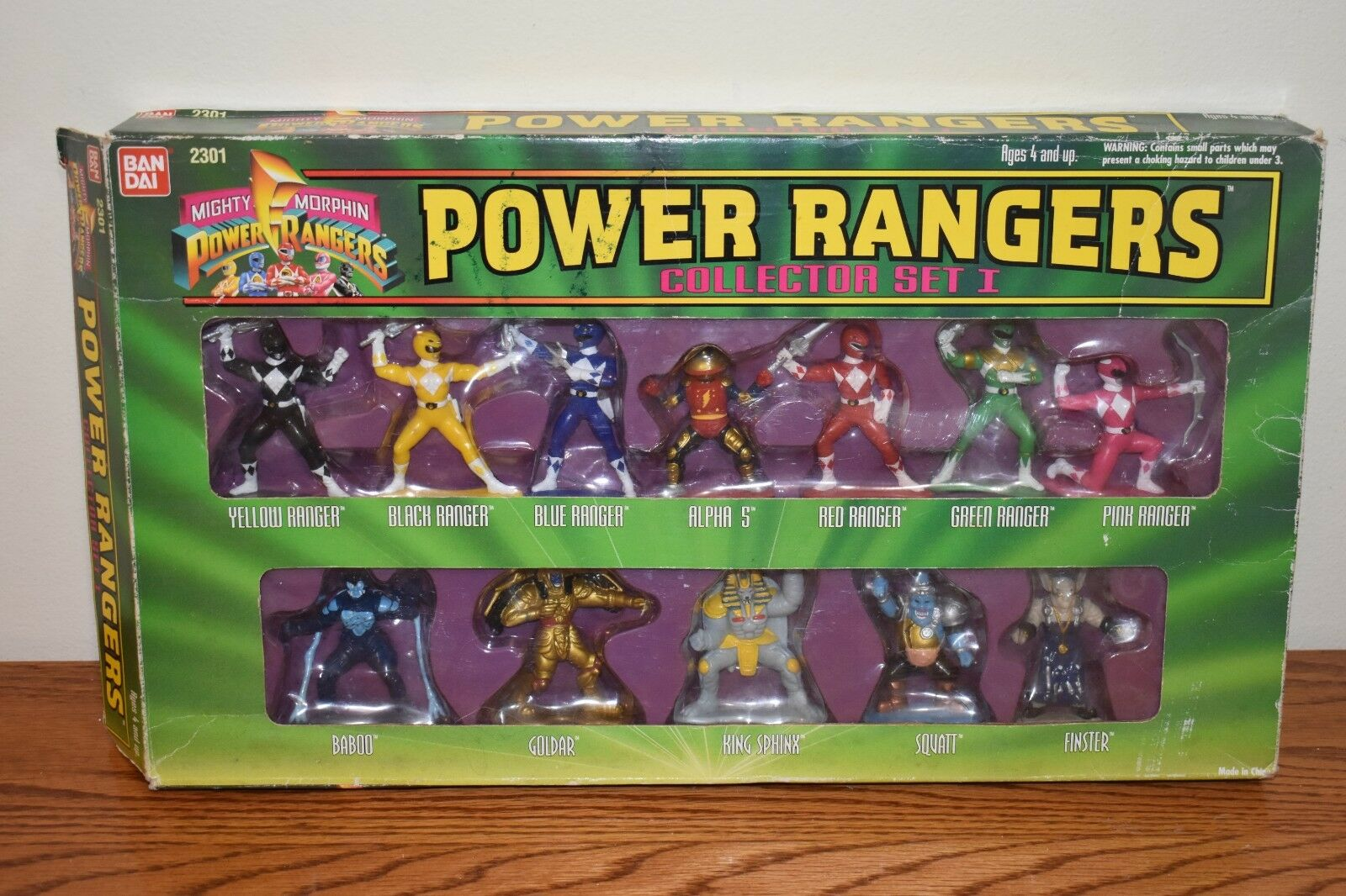 1994 Ban Dai Mighty Morphin POWER RANGERS COLLECTOR SET I I I (1) 8cab71