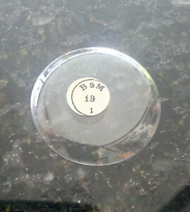19 Ligne Thin Glass Hunter Case Pocket Watch Crystals U-Pick Thickness & Height