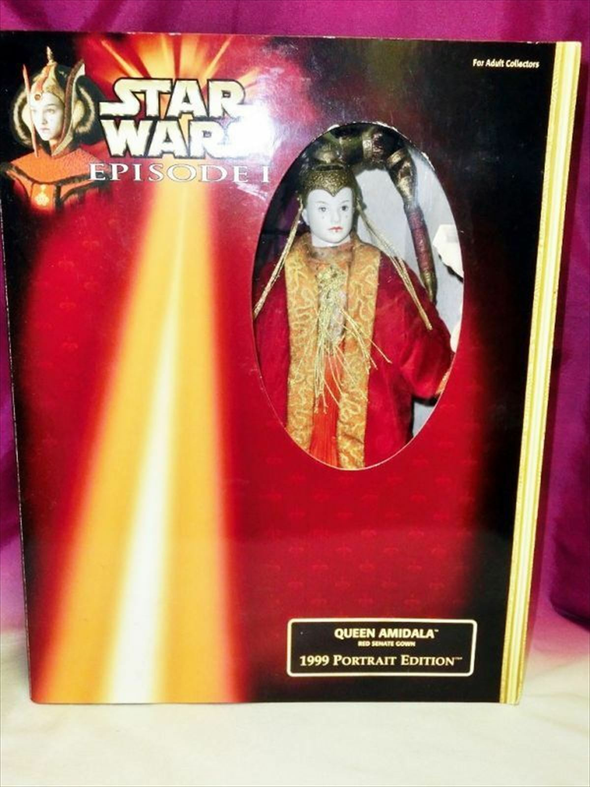 STAR WARS Episode 1 Queen Amidala 1999 Portrait Edition from JAPAN F/S