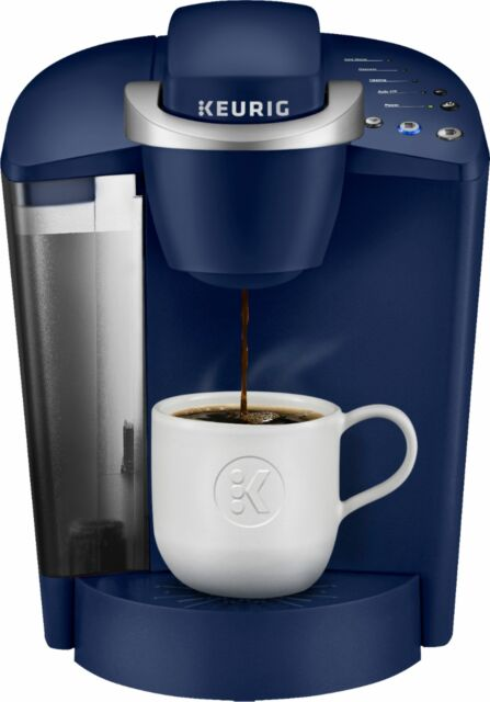 Keurig - K-Classic K50 Single Serve K-Cup Pod Coffee Maker - Patriot Blue