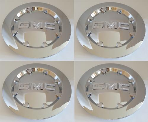 """1x GMC 2007-2014 Sierra 1500 Yukon Denali XL Chrome Whell Center Hub Cap 20/"""""""
