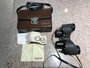 💥 1968 Bushnell Rangemaster Vintage binoculars wide field 7x35 case instruction