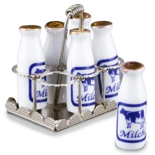 Reutter Porzellan Bottle Carrier Bottle Cradle Milk Dollhouse 1:12 Art 1.412//5